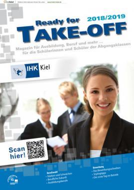 Ready for Take Off 2018/2019 - Magazin für Ausbildung, Beruf und mehr... Kiel (Auflage 24)