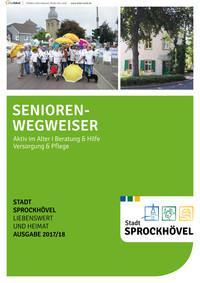 ARCHIVIERT Stadt Sprockhövel Seniorenwegweiser (Auflage 5)