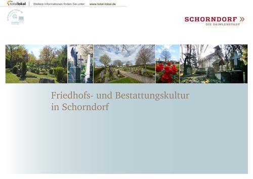 Friedhofs- und Bestattungskultur in Schorndorf (Auflage 4)
