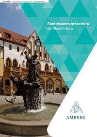 Standesamtsbroschüre der Stadt Amberg (Auflage 3)