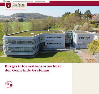 Bürgerinformationsbroschüre der Gemeinde Grafenau (Auflage 1)