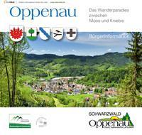 Bürgerinformationsbroschüre der Stadt Oppenau (Auflage 12)