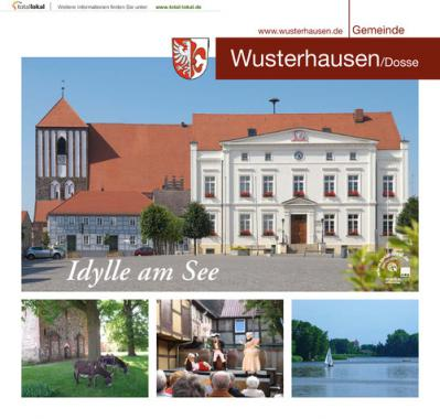 Bürgerinformationsbroschüre der Gemeinde Wusterhausen/Dosse (Auflage 1)