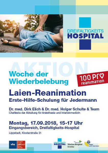 Laien-Reanimation: Erste-Hilfe-Schulung für Jedermann