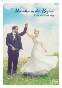 Heiraten in der Region Aichach-Friedberg (Auflage 1)