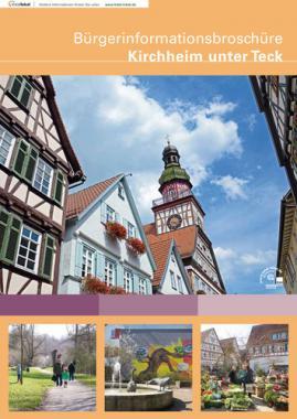 Bürgerinformationsbroschüre der Stadt Kirchheim unter Teck (Auflage 18)
