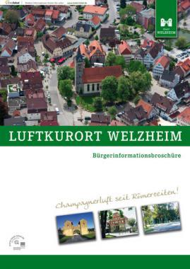 Bürgerinformationsbroschüre Luftkurort Welzheim (Auflage 10)