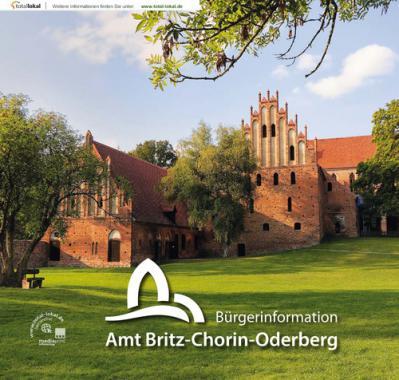 Bürgerinformationsbroschüre Amt Britz-Chorin-Oderberg