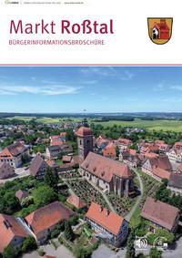ARCHIVIERT  Bürgerinformationsbroschüre des Marktes Roßtal (Auflage 13)