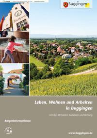Bürgerinformationen - Leben, Wohnen und Arbeiten in Buggingen (Auflage 4)
