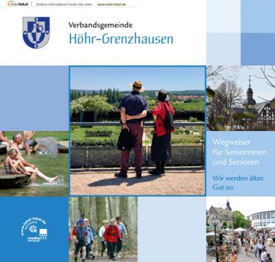 Wegweiser für Seniorinnen und Senioren, Verbandsgemeinde Höhr-Grenzhausen (Auflage 2)