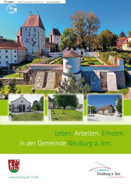 Leben. Arbeiten. Erholen. In der Gemeinde Neuburg am Inn (Auflage 4)
