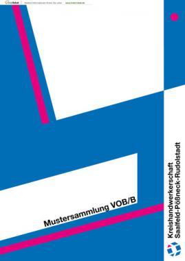 Mustersammlung VOB/B - KHW Saalfeld-Pößneck-Rudolstadt (Aufalge 1)