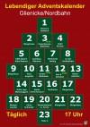 Vorweihnachtliche Stimmung überall in Glienicke - Der Adventskalender wird lebendig