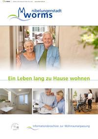Informationsbroschüre zur Wohnraumanpassung Stadt Worms (Auflage 1)