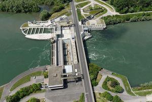 Das Rheinkraftwerk Iffezheim