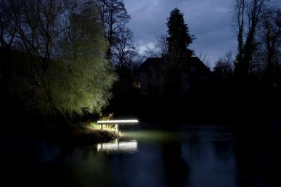 Durch die Nacht ... entlang der Lippstädter Lichtpromenade