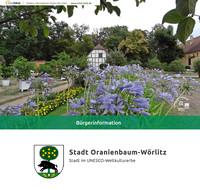 Informationsbroschüre Oranienbaum-Wörlitz (Auflage 2)