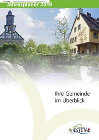 Ihre Gemeinde Niestetal im Überblick Jahresplaner 2019 (Auflage 4)
