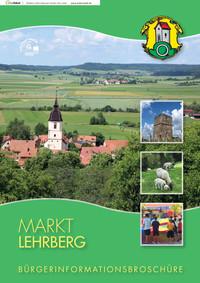 Markt Lehrberg Bürgerinformationsbroschüre (Auflage 1)