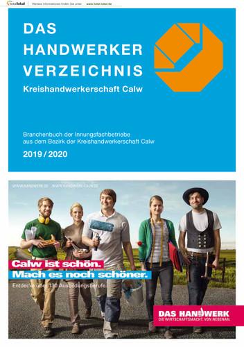 DAS HANDWERKER VERZEICHNIS Kreishandwerkerschaft Calw (Auflage 2)