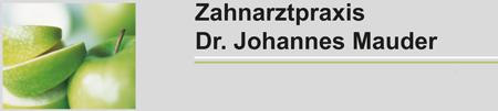 Dr. Johannes Mauder