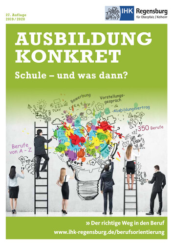 Ausbildung konkret - Der richtige Weg in den Beruf 2019/2020 (Auflage 27)