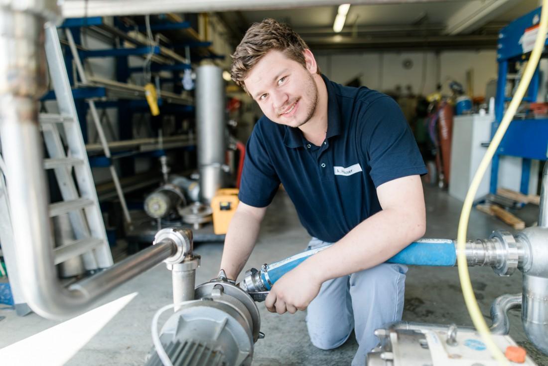 Industriemechaniker (m/w/d) Betriebstechnik