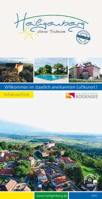 Willkommen im staatlich anerkannten Luftkurort Gemeinde Heiligenberg (Auflage 5)