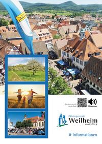 Informationsbroschüre Weilheim an der Teck (Auflage 8)