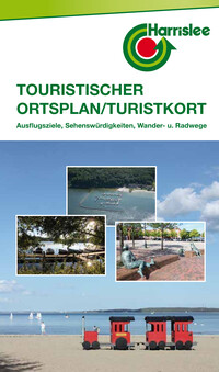 Harrislee: Touristischer Ortsplan / Turistkort