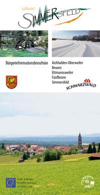 Bürgerinformationsbroschüre Luftkurort Simmersfeld (Auflage 9)
