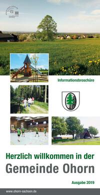 Informationsbroschüre Gemeinde Ohorn (Auflage 5)