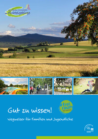 Wegweiser für Familien und Jugendliche im Landkreis Wunsiedel (Auflage 2)