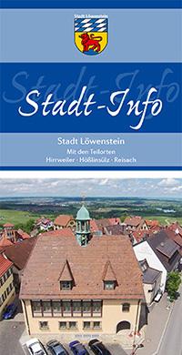 Bürgerinformationsbroschüre der Stadt Löwenstein (Auflage 7)