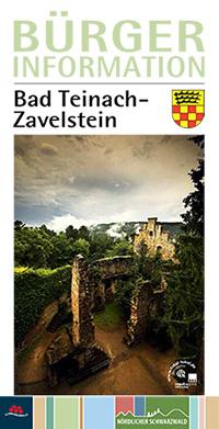 Bürgerinformationsbroschüre der Stadt Bad Teinach (Auflage 7)