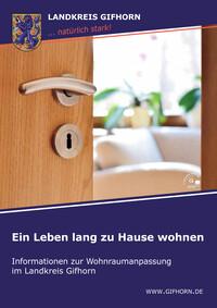 Informationen zur Wohnraumanpassung im Landkreis Gifhorn (Auflage 1)