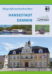 Bürgerinformationsbroschüre Hansestadt Demmin (Auflage 3)