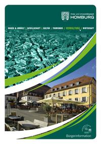 Bürgerinformationsbroschüre Kreis- und Universitätsstadt Homburg (Auflage 4)