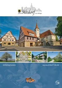Informationsbroschüre Gemeinde Altdorf Kreis Böblingen (Auflage 4)