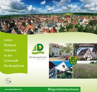 Leben Wohnen Arbeiten in der Gemeinde Deckenpfronn (Auflage 2)
