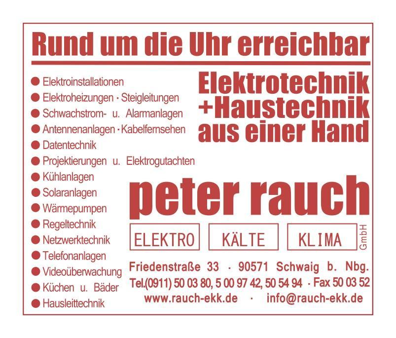 Peter Rauch Elektro- Kälte- Klima GmbH