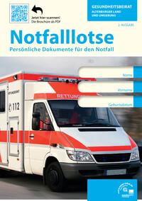 Notfalllotse - Gesundheitsbeirat Altenburger Land und Umgebung  (Auflage 2)