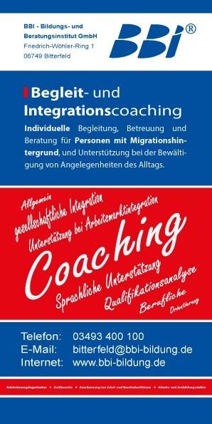 Begleit- und Integrationscoaching für Personen mit Migrationshintergrund