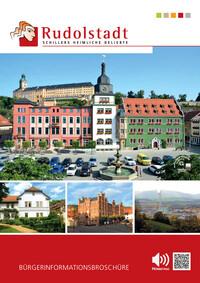 Bürgerinformationsbroschüre für die Stadt Rudolstadt (Auflage 1)