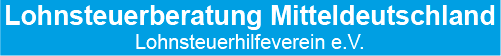 Lohnsteuerberatung Mitteldeutschland