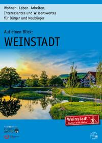 Auf einen Blick: Weinstadt Wohnen. Leben. Arbeiten (Auflage 19)