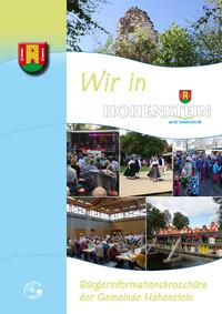 Bürgerinformationsbroschüre der Gemeinde Hohenstein (Auflage 2)