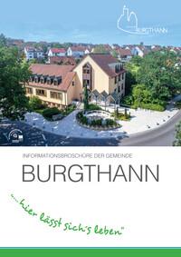Informationsbroschüre der Gemeinde Burgthann (Auflage 9)