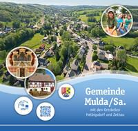 Informationsbroschüre der Gemeinde Mulda/Sa. mit den Ortsteilen Helbigsdorf und Zethau (Auflage 1)